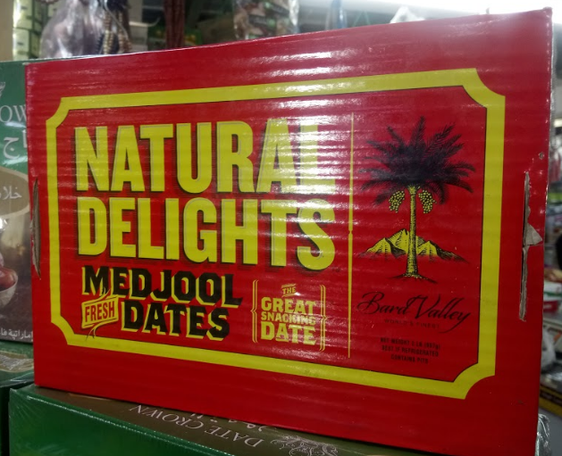 Kurma Medjool California Natural Delight 1 kg