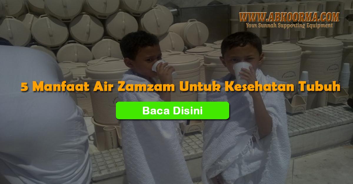 5 manfaat air zamzam untuk kesehatan tubuh cover