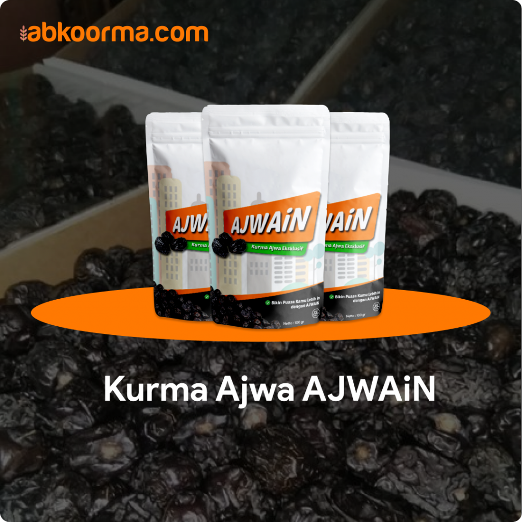 Kurma Ajwa AJWAiN - 3 Merk Kurma Ajwa Terbaik dan Terenak
