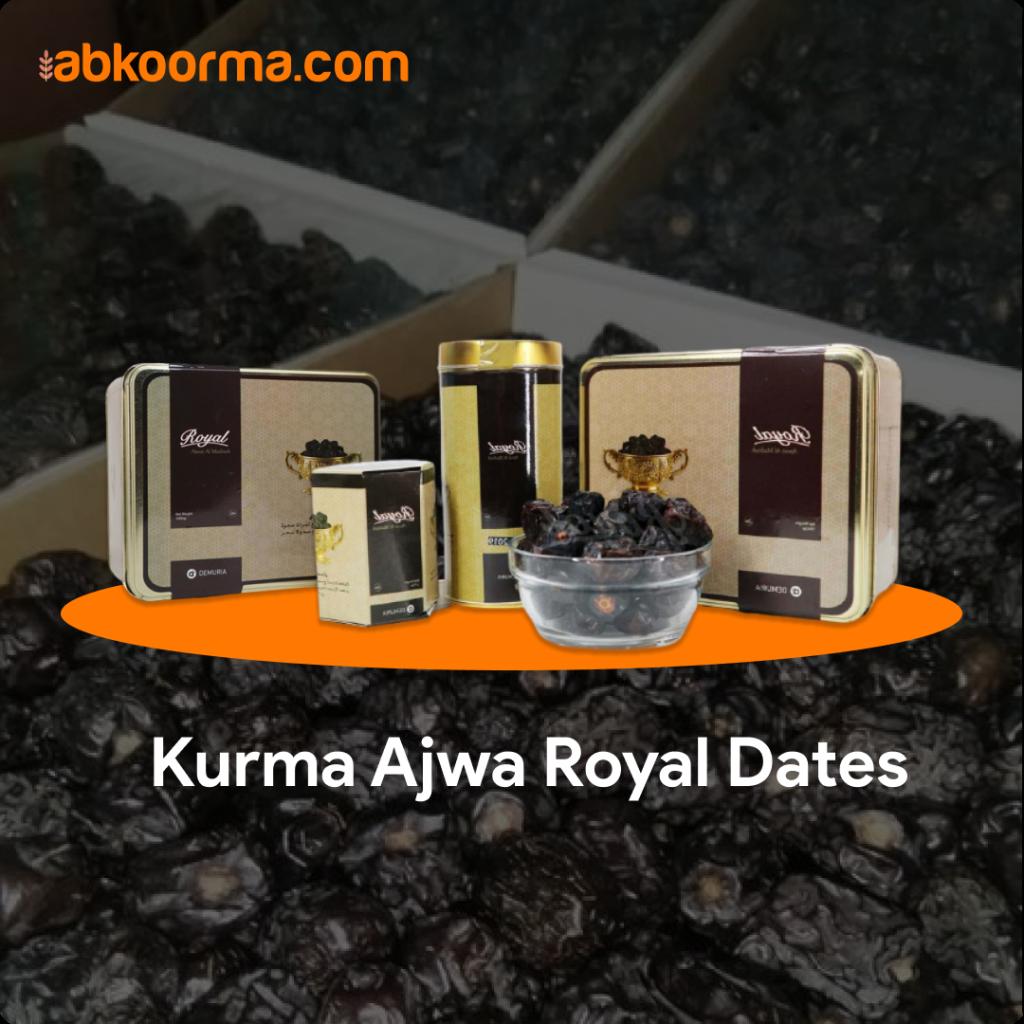 Kurma Ajwa Royal Dates - 3 Merk Kurma Ajwa Terbaik dan Terenak