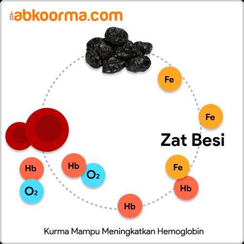 sari kurma meningkatkan hb